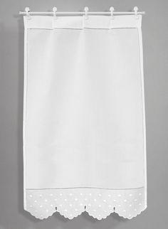 Scandinavian Window Treatments, Kitchen Window Treatments, Curtains With Blinds, Window Curtains, Sr1, Beautiful Curtains, Curtain Designs, Kitchen Curtains, Window Coverings