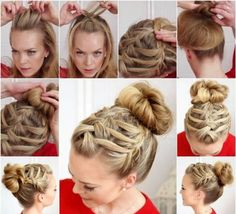 Easy DIY Hairstyles for Medium and Long Hair1 (67)