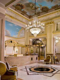 Lobby of Hotel George V, Paris | Decore Gigi ᘡղbᘠ