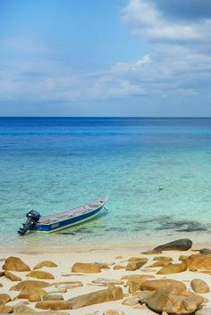 Perhentian islands in Malaysia, a snorkeling paradise. I recommend going to the nearby Rawa island for snorkeling with less people around.