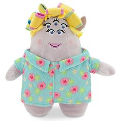 "For a monstrously big ""good morning"" hug, Mrs Squibbles is always ready. MRS SQUIBBLES PLUSH SOFT TOY DOLL (from ""Monsters University"") #Disney #Pixar"