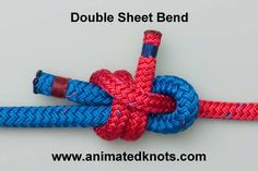 How to tie a Sheet Bend (Becket Bend)   Boating Knots