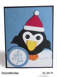 Penguin Christmas Card