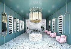Terrazzo Retail Design   Source: Bold Design