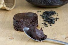 Moelleux au chocolat noir et thé Lapsang Souchong