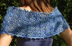 wheelchair crochet patterns | Free Crochet Shawl Patterns - Easy Shawls to Crochet