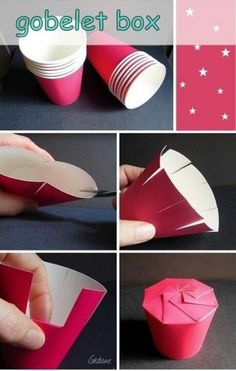 DIY idea-goblet box