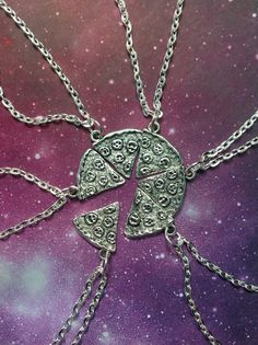 Pizza Necklaces, $8 apiece | 24 Matching Jewelry Pieces For You And The One You Love