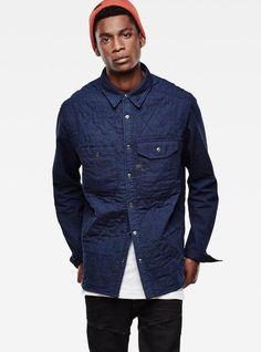 Wolker Quilted Overshirt