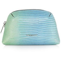 TOPSHOP Ombre Make-Up Bag found on Polyvore featuring beauty products, beauty accessories, bags & cases, blue, dopp bag, travel kit, travel bag, wash bag and cosmetic bag