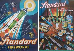 Community Post: 30 Of The Coolest Vintage Fireworks Labels & Posters