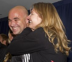 Andre Agassi & Steffi Graf