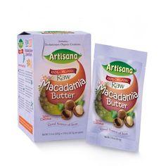 Artisana, Organic Raw Macadamia Butter with Cashews, 10 Packets, 1.19 oz (33.7 g) Each: Amazon.co.uk: Grocery