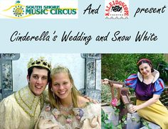 Cinderella's Wedding and Snow White at the South Shore Music Circus Ticket Giveway