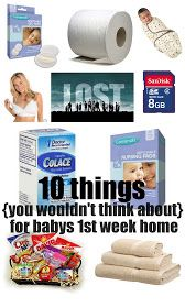 Keeping Up With Us Jones': 10 things for your first week home with baby