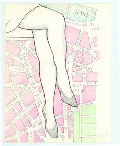 Dino Buzzati, Le gambe di Saint Germain, 1971.