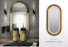 Luxury Bathrooms: 9 Dashing Mirrors To Complete Your Dream Bathroom