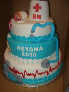 I officially want this as an MD cake when I graduate med school in May!!!