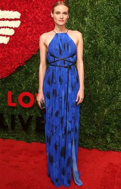 Look red carpet de Diane Kruger.