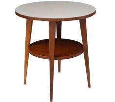 mesa lateral com pé palito, by...Pé Palito Móveis Vintage