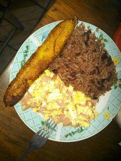 Desayuno Nicaragüense.....delicioso