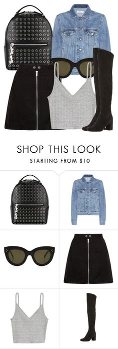 """""""Untitled #4547"""" by beatrizvilar on Polyvore featuring Philipp Plein, Closed, CÉLINE, H&M and Yves Saint Laurent"""
