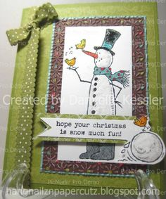 Snowman Christmas by dkessler73 - Cards and Paper Crafts at Splitcoaststampers