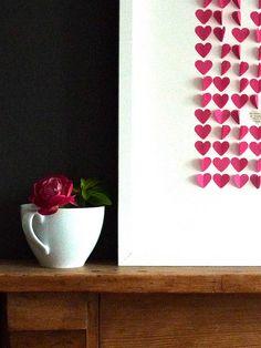 Valentine Day felt garland valentines For Valentine Beautiful Spring Wreath! Teacher Valentine, Cute Valentines Day Gifts, Valentine Crafts For Kids, Valentine Treats, Vintage Valentines, Valentine Decorations, Be My Valentine, Love Shape, Felt Garland