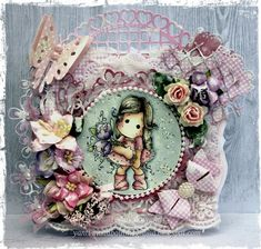 "Welcome .....:  My DT Card for Paradise of Magnolia "" Spring ""  T..."
