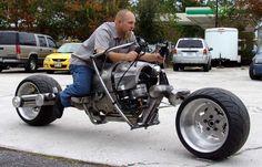 Chopper City's road-legal BatPod replica, ummm yes please Concept Motorcycles, Cool Motorcycles, Homemade Motorcycle, Offroader, City Road, Motorcycle Bike, Super Bikes, Street Bikes, Bike Design