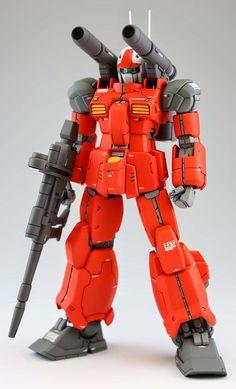 GUNDAM GUY: 1/144 RX-77-2 Guncannon (Garage Kit) - To Be Re-Sale @ C3 x Hobby 2014 (Japan) [Updated 8/13/14]