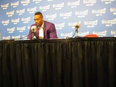 Dwight Howard Fashion Show & Post Game 2 Rockets Win Over Clippers Press...