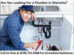 ▶ Plumber Marietta GA | (678) 721-8188 | Plumbing Service in Marietta GA - YouTube