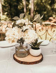 10 best wood slab centerpiece images wedding centerpieces wedding rh pinterest com