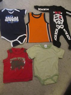 LOT#61 - BOYS INFANT CLOTHING - FIVE OUTFITS