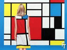 Yves Saint Laurent And Piet Mondrian - NizzedOn