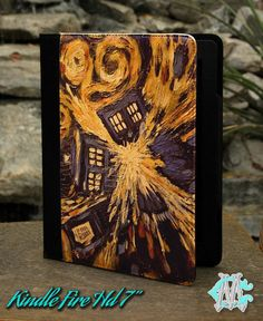 2012 Edition Kindle Fire HD 7 Book Cover Case   by CustomizeMeAz