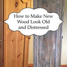 DIY Wood Pallet Wall - How to make new wood look weathered, distressed with different techniques. Whitewash, steel wool for gray weathered effect, driftwood Distressed Wood Furniture, Weathered Wood, Barn Wood, Stained Shiplap, Faux Shiplap, Wood Furniture Living Room, Pallet Furniture, Painting Furniture, Wood Carving Patterns