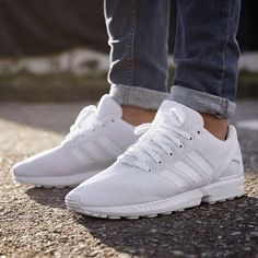 Adidas ZX flux or Nike Air Max in white