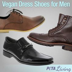 Vegan Dress Shoes: Stylish, Practical, and Kind | For Men | Living | PETA