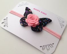Hey, I found this really awesome Etsy listing at https://www.etsy.com/listing/233691106/butterfly-and-rose-hairband-on-skinny