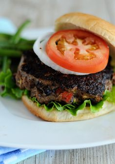 Turkey and Black Bean Burgers