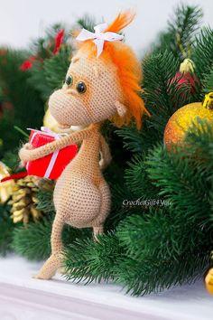 Project by CrochetGift4you. Baby monkey crochet pattern by Pertseva for LittleOwlsHut. #LittleOwlsHut, #Amigurumi, #CrohetPattern, #Crochet, #Crocheted, #funny rat, #Pertseva, #DIY, #Craft, #Pattern