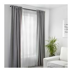 IKEA - ALVINE SPETS, Net curtains, 1 pair, The net curtains let the daylight through but provide privacy so they are perfect to use in a layered window solution.The slot heading allows you to hang the curtains directly on a curtain rod. Layered Curtains, Double Curtains, Lace Curtains, Curtains With Blinds, Blackout Curtains, Curtain Panels, Vintage Curtains, Patterned Curtains, Double Curtain Rods