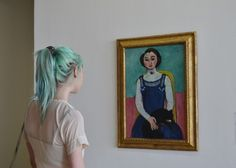 art, pale, and hair image