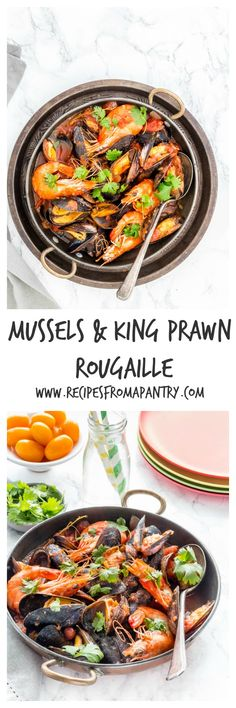 This prawn and mussels Rougaille with a richly tomato sauce flavoured with onions, thyme, garlic and chillies. @recipespantry via @recipespantry