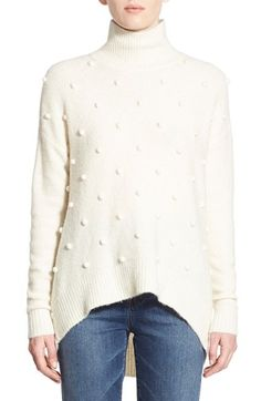 Madewell 'Snowglobe Bobble' Turtleneck Sweater available at #Nordstrom