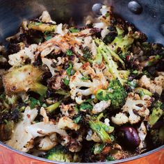 Zuni Cafe's Spicy Broccoli and Cauliflower from Lucky Peach ...