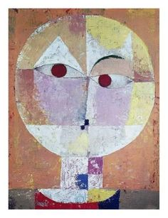 Giclee Print: Senecio (detail) by Paul Klee : 26x20in