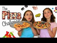 The Pizza Challenge | Brooklyn and Bailey - YouTube
